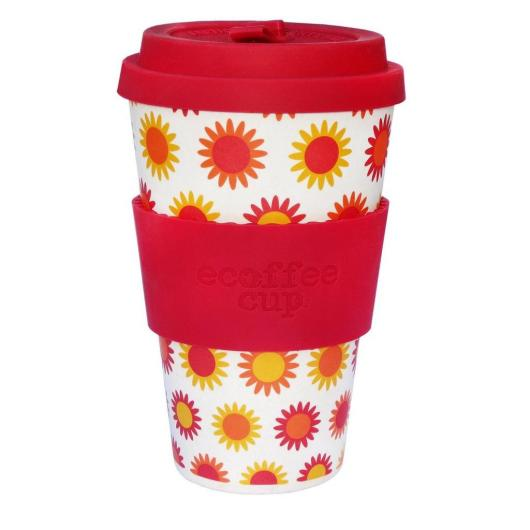 Vaso de Bambú Happy ecoffee Alternativa3, 400ML
