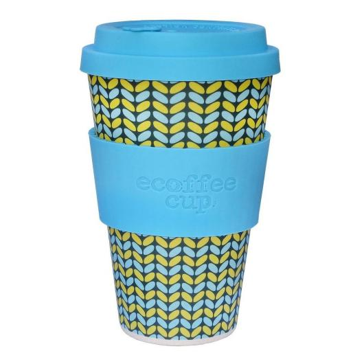 Vaso de Bambú Norweaven ecoffee Alternativa3, 400 ml