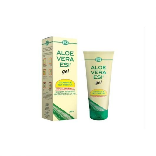 Aloe Vera Gel Con Albero di the Esi