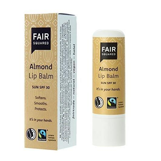 Fair Bálsamo labial almendra, FPS 30 Fair Squared, 7g