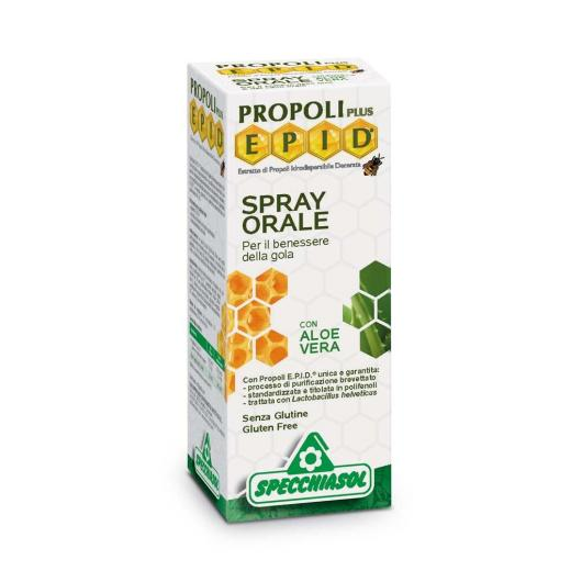 Spray Oral Aloe Vera Specchiasol 15 ml