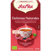 Yogi Tea BIO Defensas naturales, 17 bolsitas