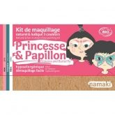 Kit maquillage Princesse & Papillon Namaki 3 couleurs