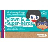 Kit maquillage clown et super héro Namaki