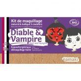 Kit maquillage diable et vampire Namaki