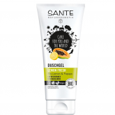Gel de Ducha Limón, Papaya y Aloe de Vera Fresh Sante, 200ml