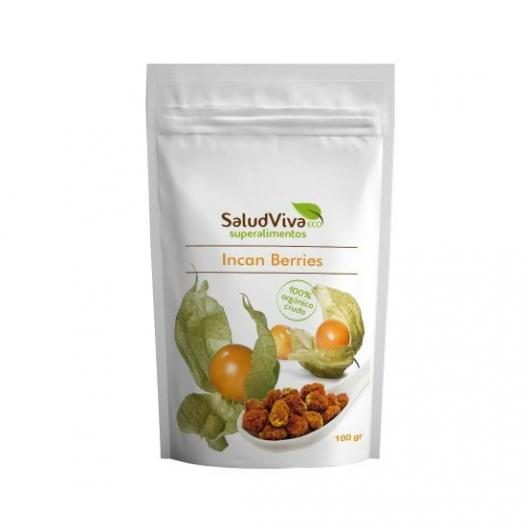 Incan berries enteras ECO 100 g, Salud Viva