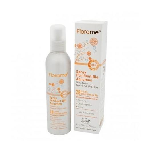 Spray purificante cítrico FLORAME 180 ml