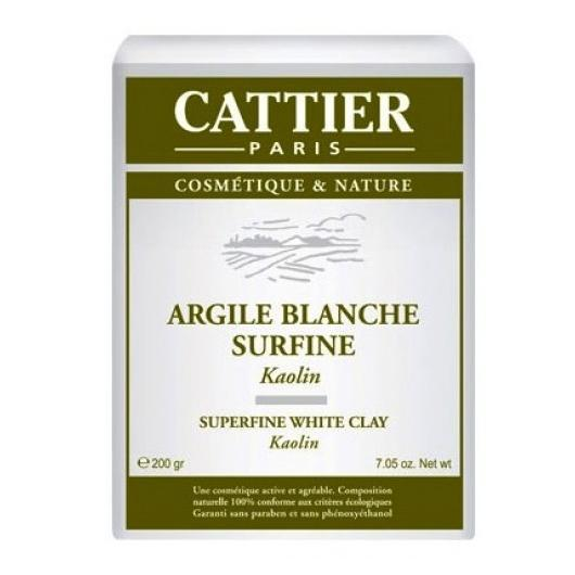 Argile blanche superfine Cattier, 200 g
