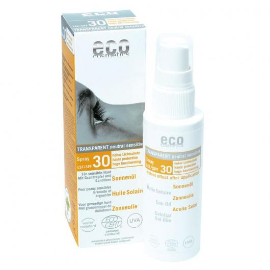 Spray aceite solar SPF 30 EcoCosmetics, 50ml