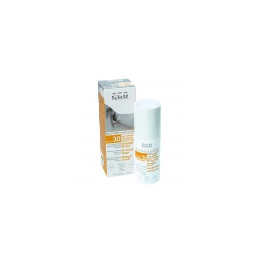 Gel Viso Solare FPS 30 EcoCosmetics, 30ml