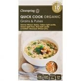 Quick cook cereales y legumbres Clearspring 250g