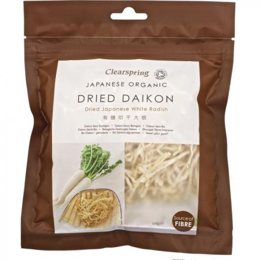 Daikon seco Clearspring, 40 g