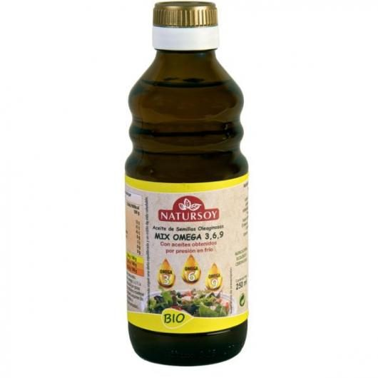 Aceite mix Omega 3, 6, 9 ECO Natursoy, 250 ml