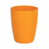 Vaso higiene dental Cocktail naranja Wenko