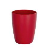 Vaso higiene dental Cocktail rojo Wenko