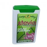 Estevia dispensador Energy Fruits, 300 comprimidos