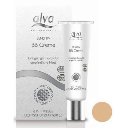 BB Cream pelli sensibili light beige Alva, 30ml