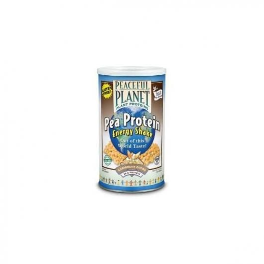 Guisante proteína chocolate Paceful Planet, 400 gr