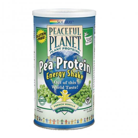 Guisante proteína vainilla Paceful Planet, 400gr
