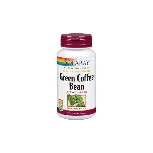 Green coffee Solaray, 60 Cápsulas vegetales