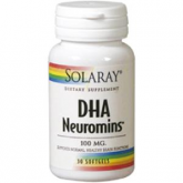 ​DHA Neuromins 100mg Solaray, 30 perlas