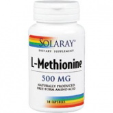 L-Methionine 500 mg Solaray, 30 cápsulas