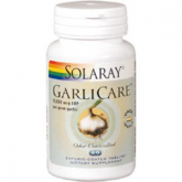 Garlicare 10.000mcg Solaray, 60 compresse
