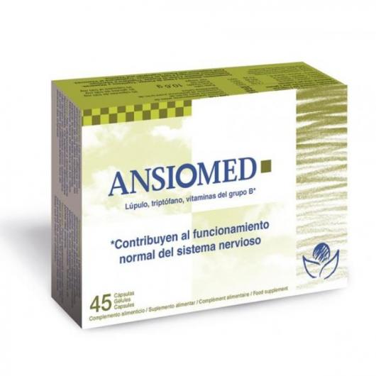 Ansiomed Bioserum, 45 cápsulas