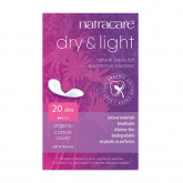 Compresas dry-light incontinencia Natracare, 20ud