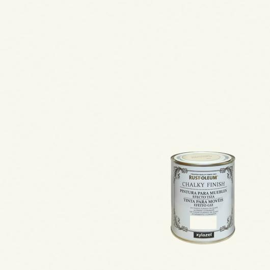 Pintura para muebles Rustoleum Chalky Finish Blanco antiguo
