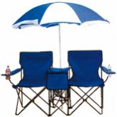 Chaise double adulte avec parasol