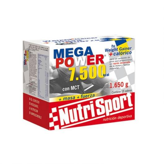 Megapower 7500 chocolate Nutrisport, 15 sobres