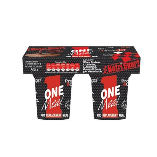 One meal chocolate Nutrisport, 2 unidades