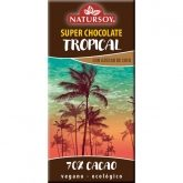 Chocolate Tropical 60% cacau Natursoy, 100 g