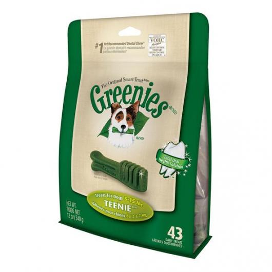 Snack dental Teenie Greenies 340 gr