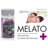 Melatonina, amapola, pasiflora  Melato+ 1,9 mg Prisma Natural, 30 caps