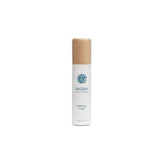 Crema Facial Matificante Naobay, 50 ml