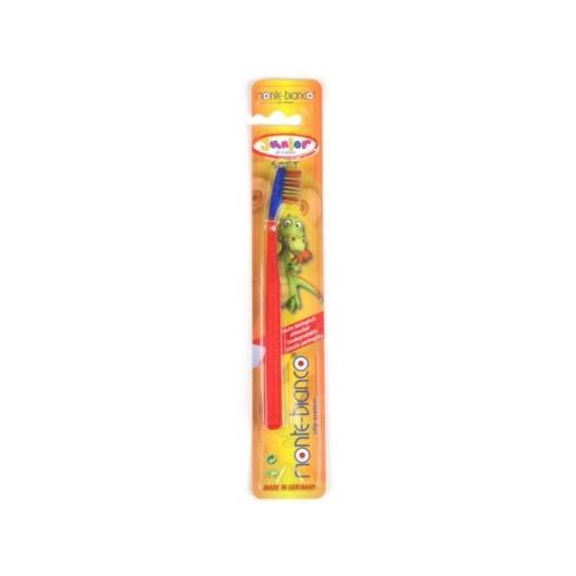 Cepillo de dientes niños nylon medium monte-bianco