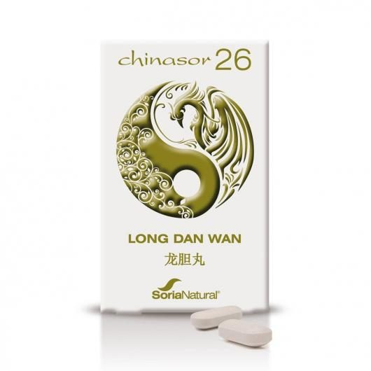 Chinasor 26  Long Dan Wan Soria Natural, 30 comprimidos