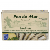 Sardinas en aceite de oliva Pan do mar, 120 g
