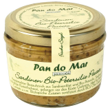 Paté de sardinas con perejil Pan do mar, 140 ml
