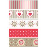 Washi tape Love Artemio 5 unidades 15 mm x 5 m