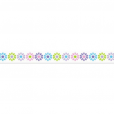 Washi tape flores  15 mm x 10 m