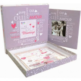 Kit scrapbooking boda
