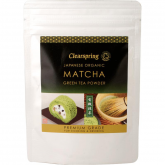 Té verde Matcha in polvere Premium Clearspring, 40 g
