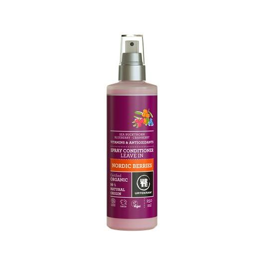Acondicionador en spray bayas nórdicas BIO Urtekram, 250 ml