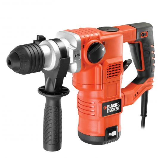 Marteau électropneumatique 1250 W + mallette Black & Decker