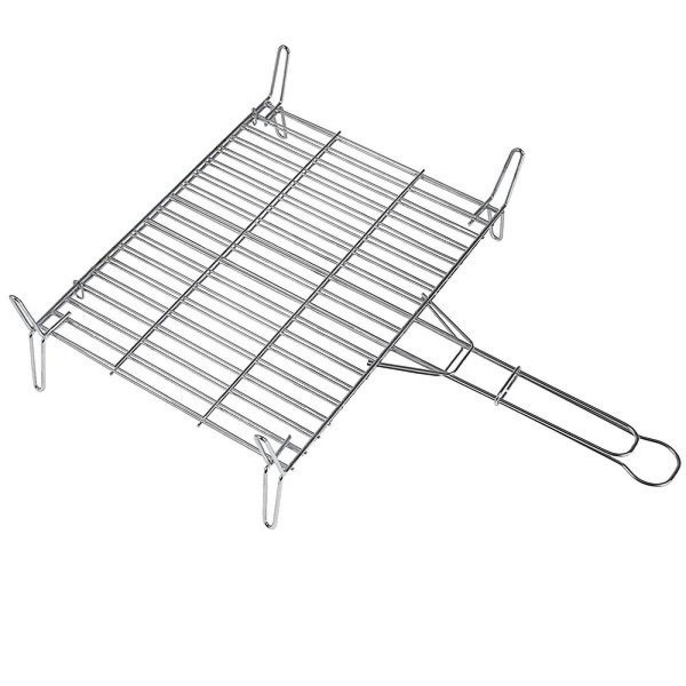 Algon double grill 40 x 40cm for on planeta huerto - Grille barbecue 70 x 40 ...