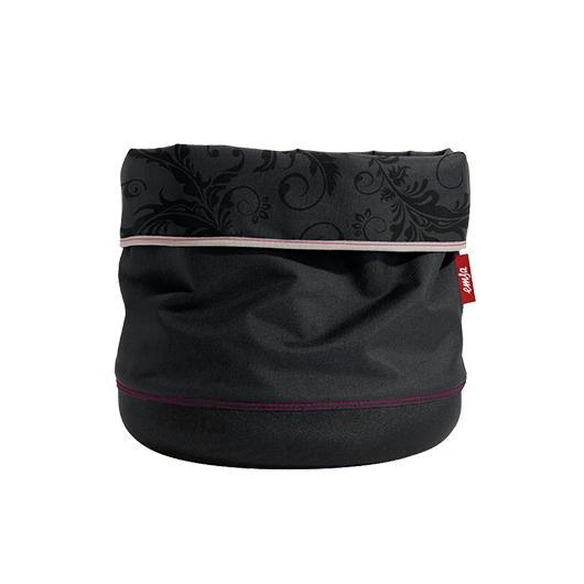 Maceta Textil Soft Bag 25cm Antracita